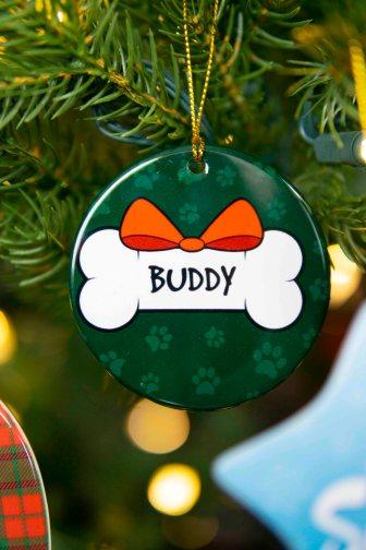 Circle Christmas Ornament