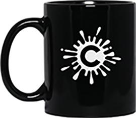 11 oz Black Mug