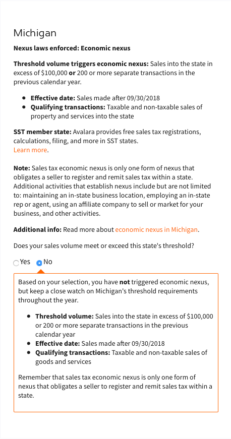 michigan-nexus-sales-tax