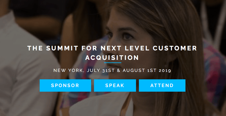 The Summit For Next Level Customer Acquisition