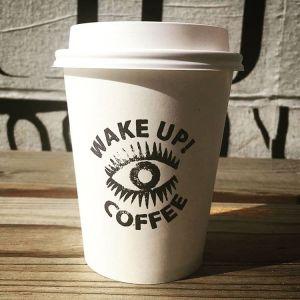 Wake Up Coffee Coffee Supplies Custom Paper Coffee Cups Image 4 www.custompapercup.com