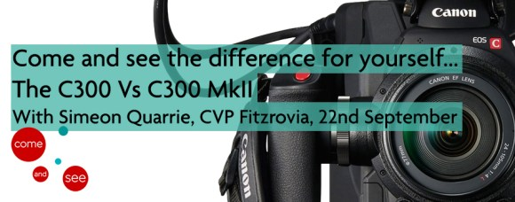 canon c300 II for event page