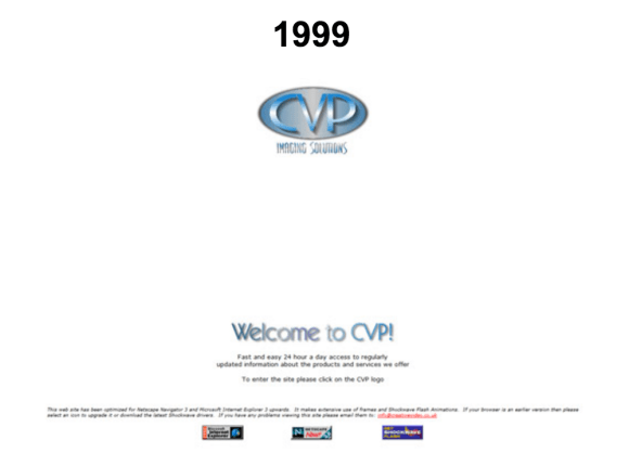 1999 website screen grab