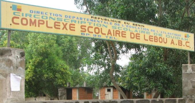 Le complexe scolaire de Rodolpho à Ouidah