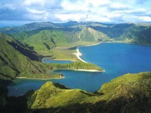Carte postale des Açores