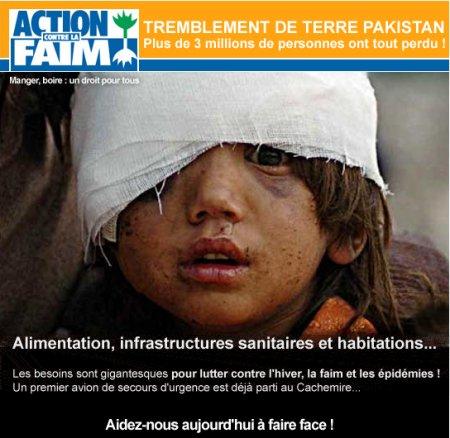 L'ONG Action contre la Faim oeuvre au Pakistan