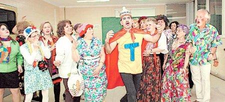 Los Argerichos, la troupe d'impro de l'hôpital