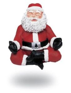 Père Noël zen...
