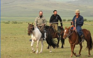 Bruno Solo en Mongolie