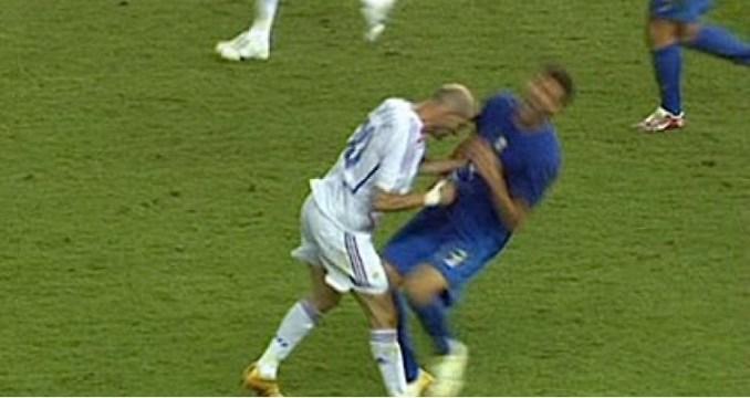 Le coup de boule de Zidane...