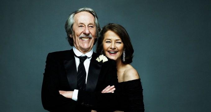 Jean Rochefort et Charlotte Rampling