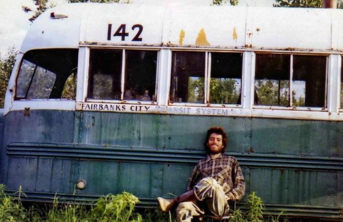 Le vrai Chris Mac Candless et son Magic Bus
