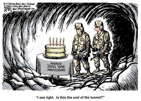 """""""Je vois de la lumière. Est-ce le bout du tunnel ?"""""""