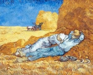 Van Gogh - La sieste