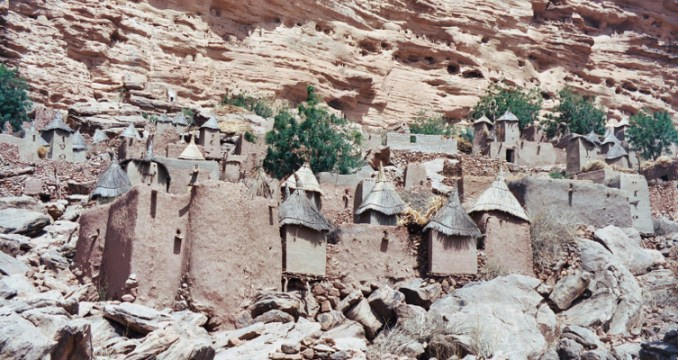 Mon premier voyage au pays dogon (Mali), en février 2003