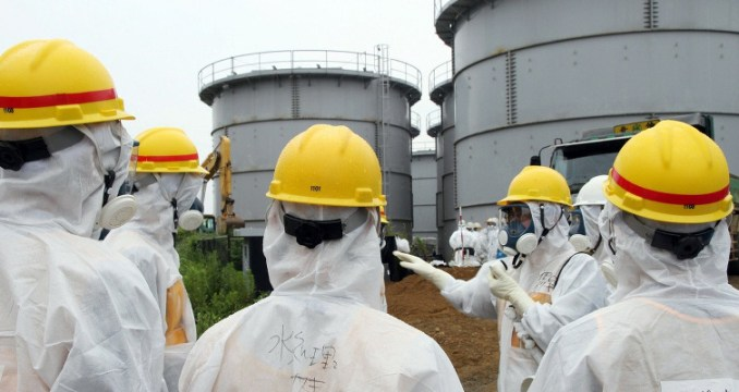 Liquidateurs à Fukushima