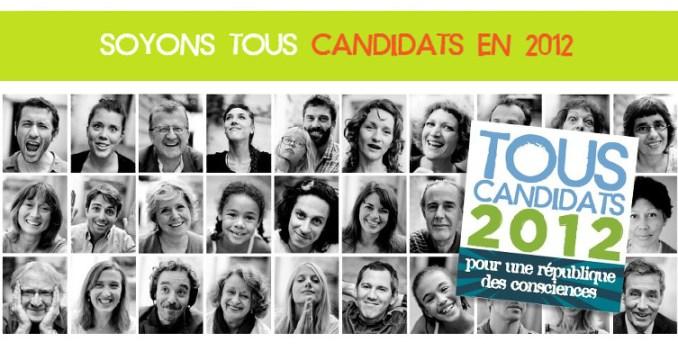 Tous candidats en 2012