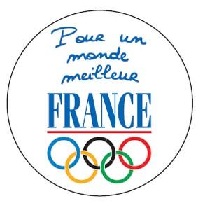 Le logo des athlètes français...