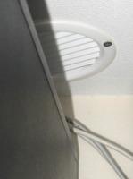 Server closet HVAC grille