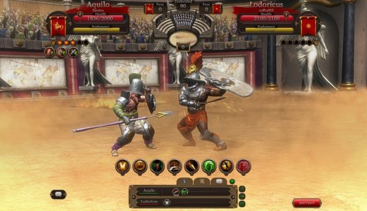 Gladiators Online -Death Before Dishonor