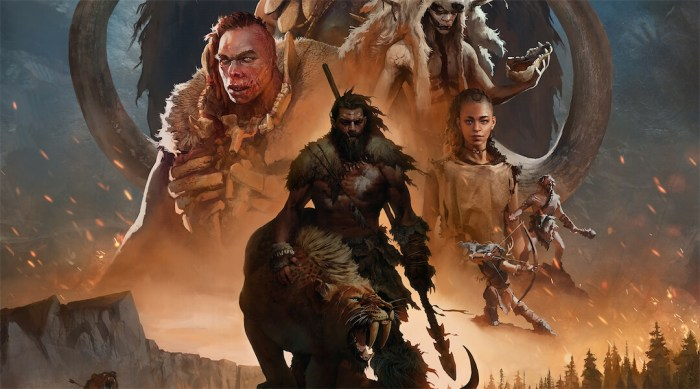 Far Cry Primal, an addicting game on gaming laptop