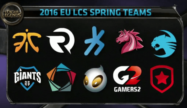 eu-lcs-spring-split-2016-teams