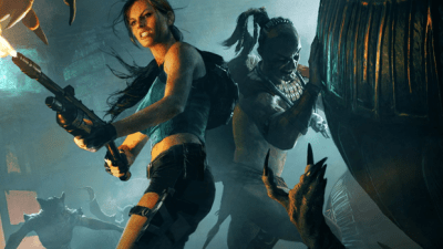 LARA CROFT AND THE GUARDIAN OF LIGHT (2010) Promotional Look