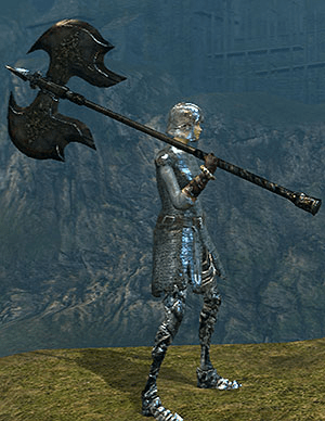 Black Knight Great Axe