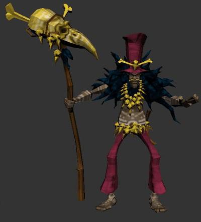 Tabu, The Voodoo Shaman