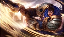 playing garen on league of legends