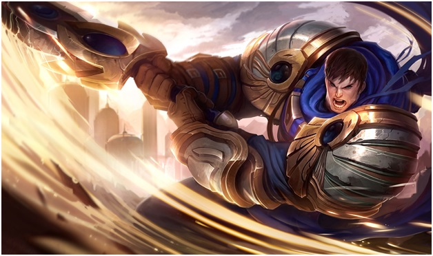 Garen on league of legends