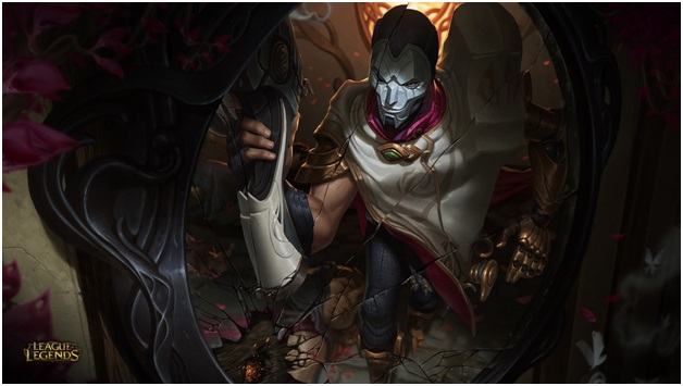 playing jhin in league of legends