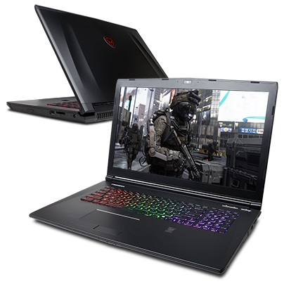 VR-Ready Fangbook 4 SX7-VR500 Gaming Laptop