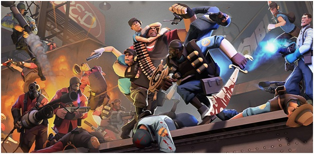 Team Fortress 2 Game in Gaming PC