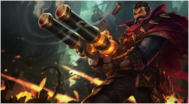 play as Graves on League of Legends