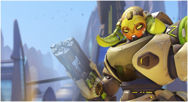 new overwatch hero Orisa try it in your gaming pc