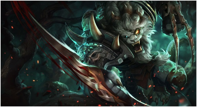 play as Rengar on League of Legends