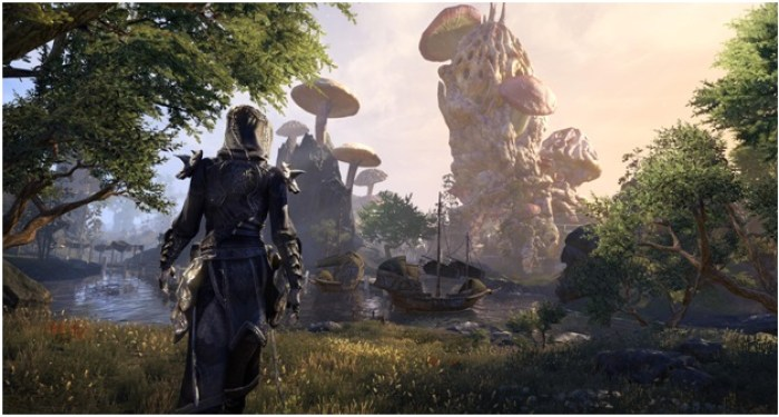 Vvanderfell shown on the Elder Scrolls online new expansion set.