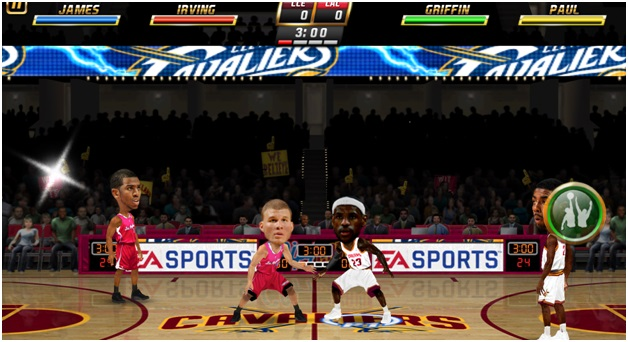 NBA Jam - Big Head
