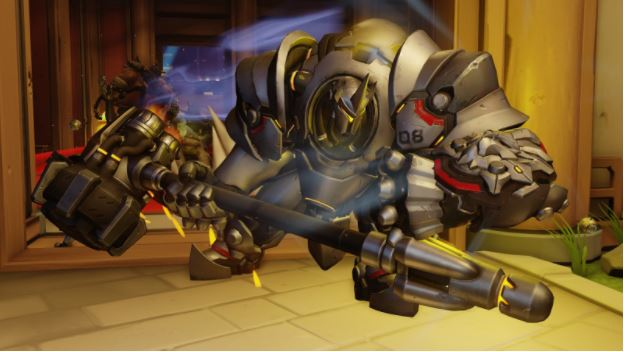 Reinhardt, the sturdiest of the tanks.