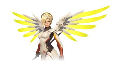 Use Mercy, the top overwatch character when you play it in your gaming pc