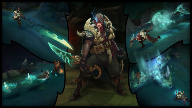 Pyke, The Newest Addition to League of Legends Champion
