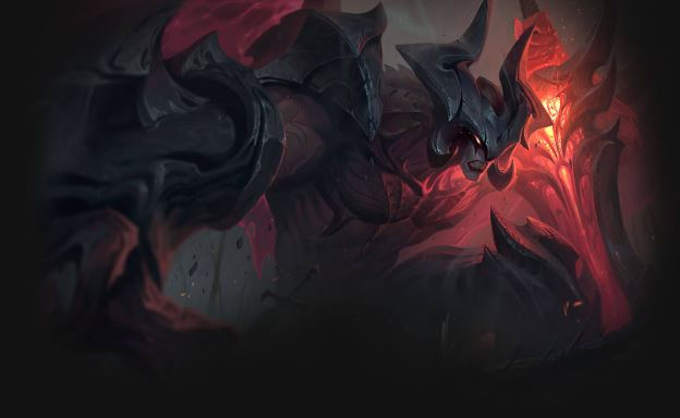 Gaming Laptop's Screenshot of Aatrox, League of Legend's New Champion