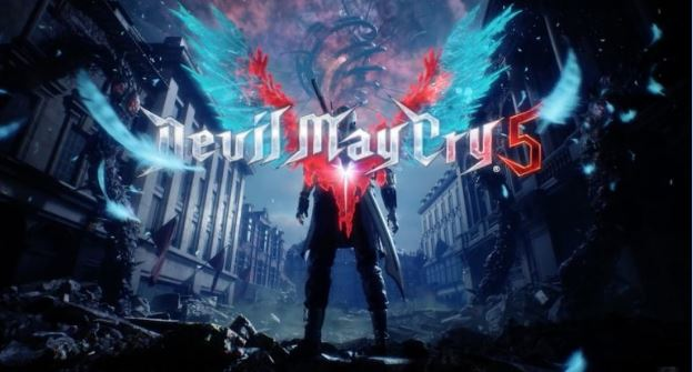 Gaming Laptop's Video Game Devil May Cry 5 Featuring Dante and Nero.
