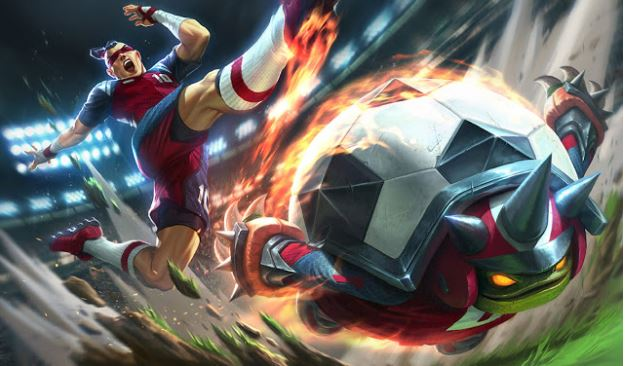 Sport Skin Theme release by Riot as seen in gaming laptops