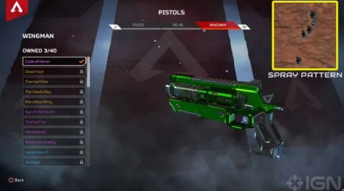 Wingman Pistol Update