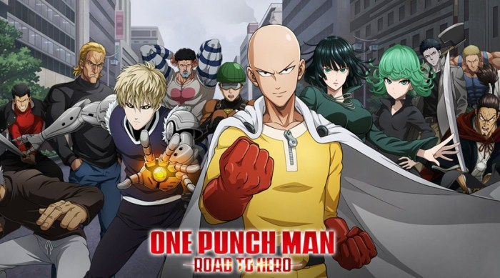 Play the new one punch man game in your gaming pc.