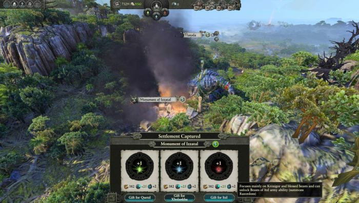 Total War Warhammer 2 The Hunter And The Beast Dlc The Hunt Begins Cyberpowerpc He also grants bonus melee defence to, and reduces the recruitment and upkeep costs, of kroxigors and sacred kroxigors in his army. total war warhammer 2 the hunter and