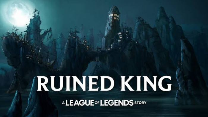 The announcement of ruined king riot forge.