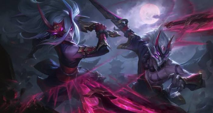 Released of blood moon skins 2020 of League of Legends for gaming pc